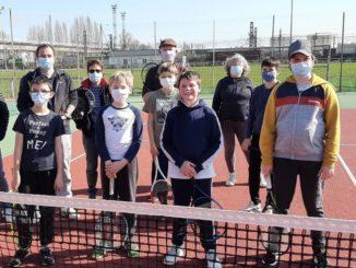 L'école de tennis USSP joue grâce à l'Aspo